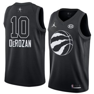 2018 All-Star Raptors DeMar DeRozan #10 Black Swingman Jersey
