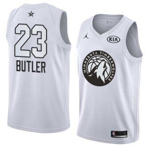 2018 All-Star Timberwolves Jimmy Butler #23 White Swingman Jersey