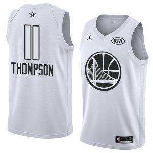 2018 All-Star Warriors Klay Thompson #11 White Swingman Jersey