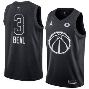 2018 All-Star Wizards Bradley Beal #3 Black Swingman Jersey