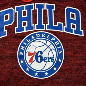 2019 Basketball NBA Phila 76ers Hoodie Red