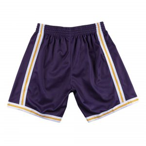 2020 Big Face Los Angeles Lakers Purple Shorts