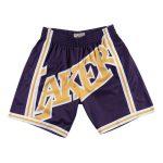 2020 Big Face Los Angeles Lakers Purple Shorts