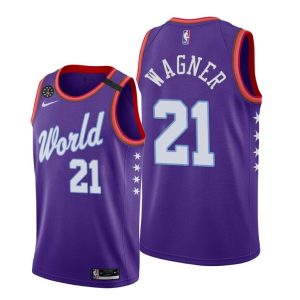 2020 Wizards Moritz Wagner #21 NBA Rising Star World Team Purple