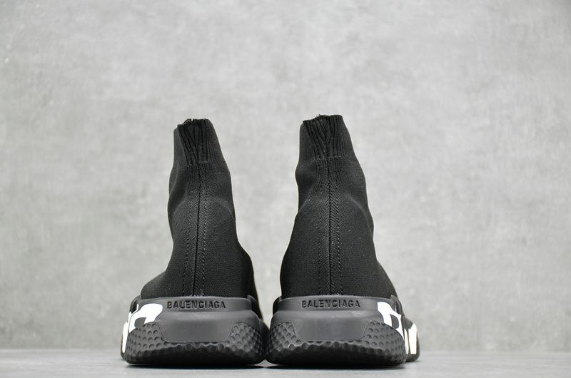 Balenciaga Wmns Speed Trainer Black White