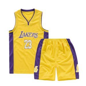 Форма детская LA Lakers 23 James жёлтая
