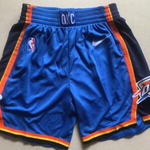 2018 19 Short Oklahoma City Thunder Icon Swingman Blue 1