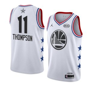 2019 NBA All-Star Warriors Klay Thompson #11 White Swingman Jersey