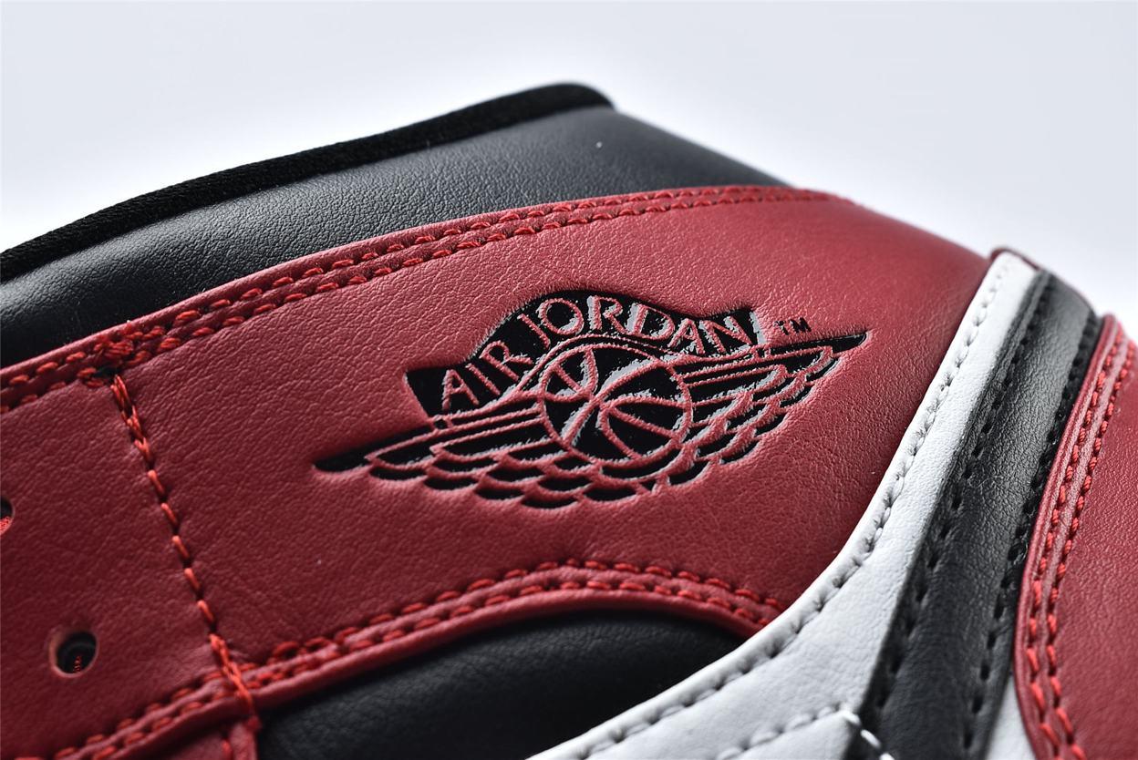 Air Jordan 1 Mid Chicago Black Toe 13