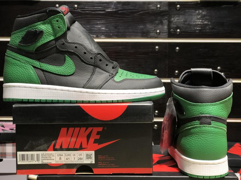 Air Jordan 1 Retro High OG Pine Green 2.0 11