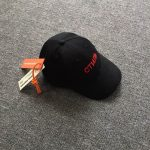 Heron Preston Black And Red Embroidered Logo Cap-4