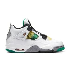 Jordan 4 Retro Lucid Green Rasta W