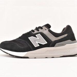 New Balance 997 Black Silver 1