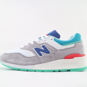 New Balance 997 Grey Blue Turquoise 1