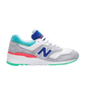 New Balance 997 Grey Blue Turquoise