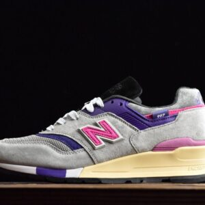 New Balance KITH x United Arrows Sons x 997 Grey Pink 1