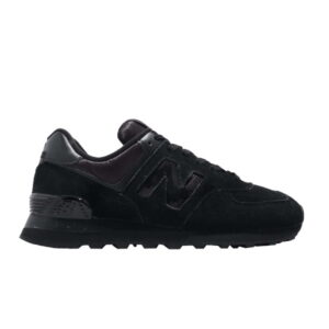 New Balance Wmns 574 Triple Black