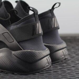 Nike Air Huarache Run Ultra Triple Black 1