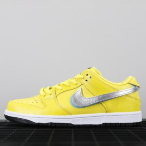 Nike Diamond Supply Co. x Dunk Low Pro SB Canary Diamond 1