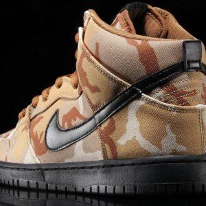 Nike SB Dunk High Pro Desert Camo 1