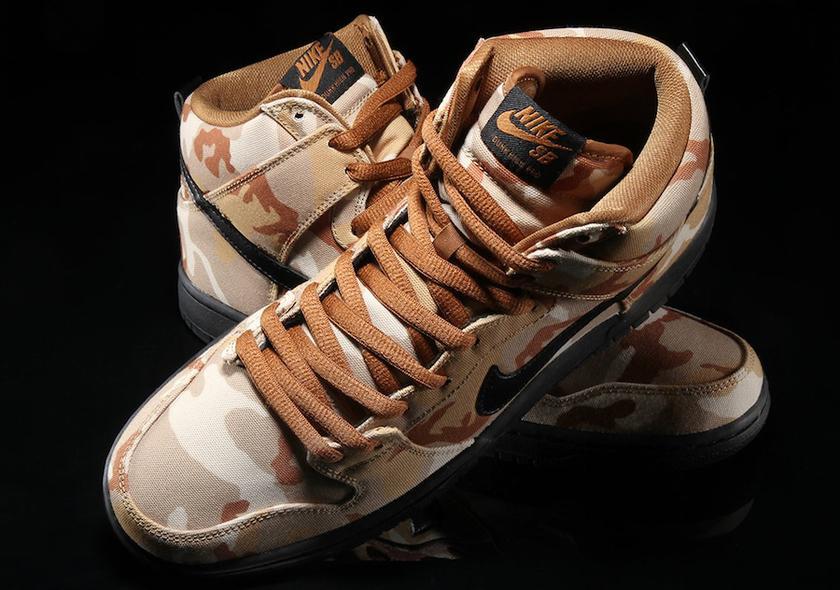 Nike SB Dunk High Pro Desert Camo 2