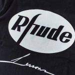 Rhude x LESSONS eagle print T-shirt-4