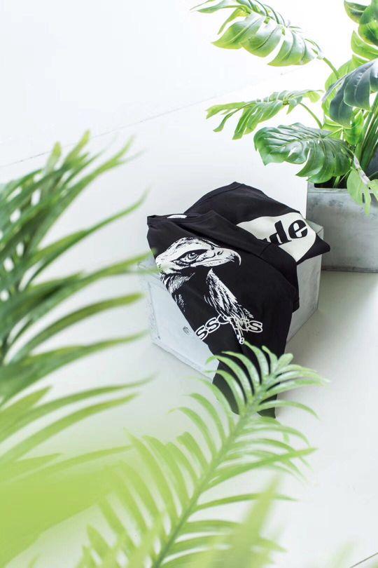 Rhude x LESSONS eagle print T-shirt