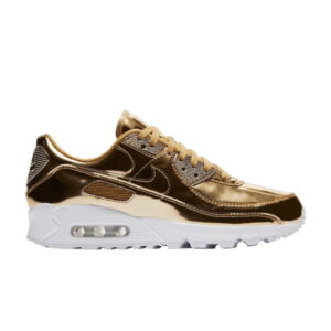 Wmns Air Max 90 Metallic Pack Gold