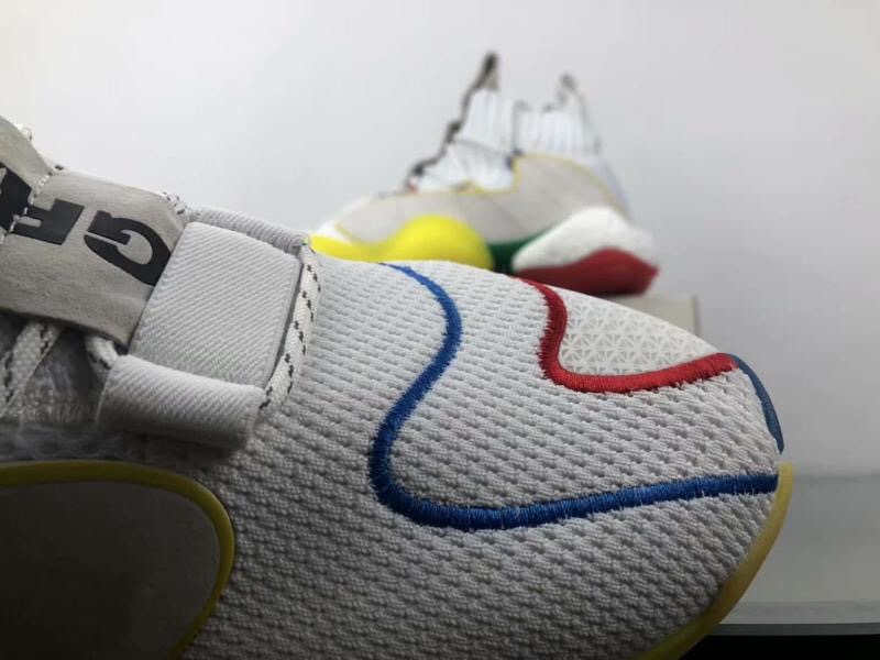 adidas Crazy BYW LVL X Pharrell Alternate White 10