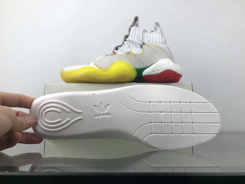 adidas Crazy BYW LVL X Pharrell Alternate White 16