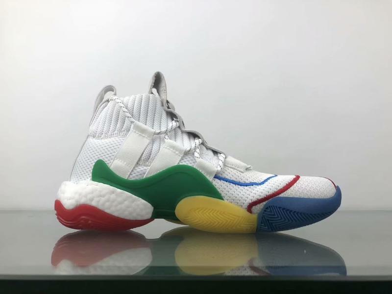 adidas Crazy BYW LVL X Pharrell Alternate White 2