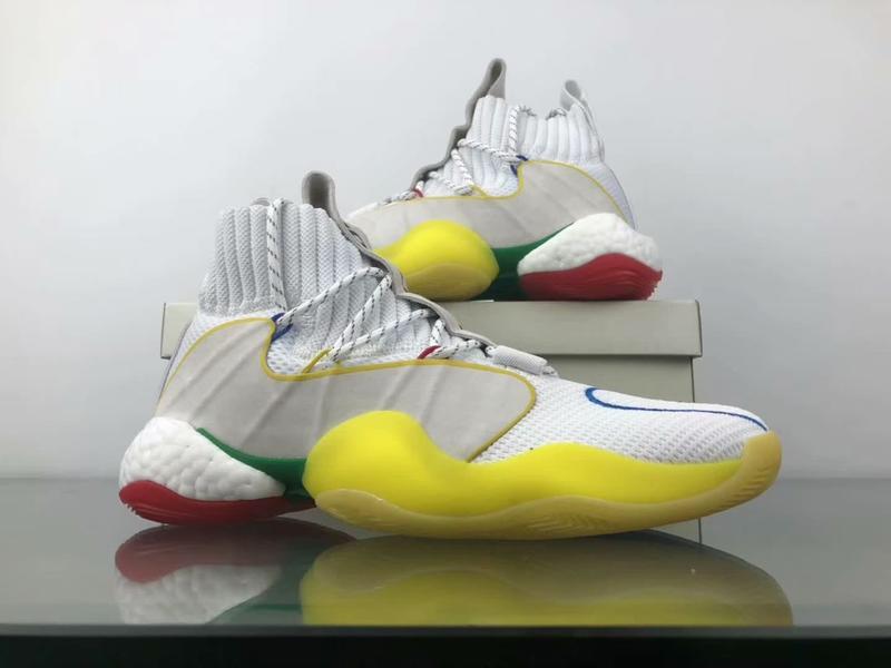 adidas Crazy BYW LVL X Pharrell Alternate White 8