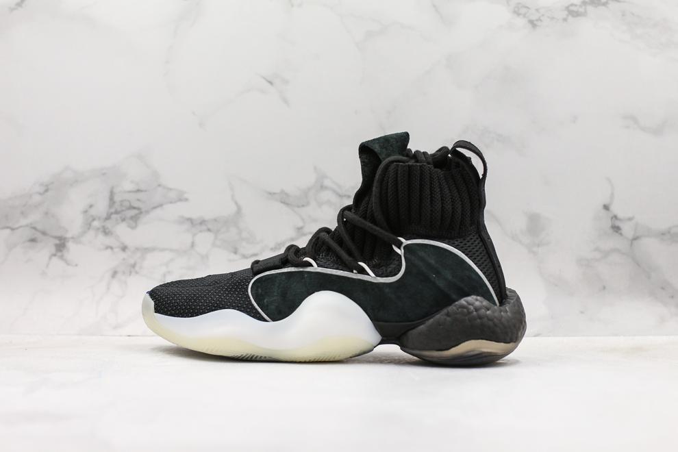 adidas Crazy BYW X Black White 1