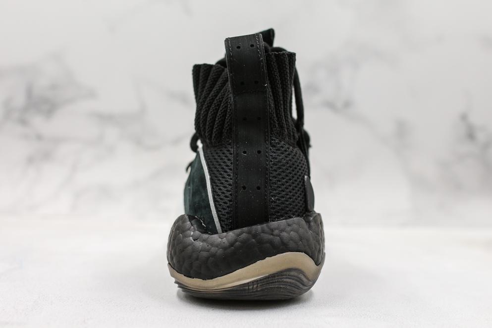 adidas Crazy BYW X Black White 2