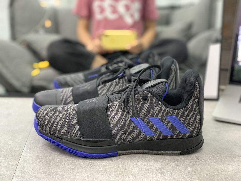 adidas Harden Vol. 3 Black Active Blue