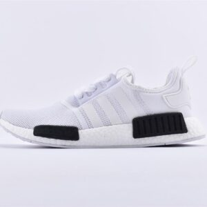 adidas NMD R1 White Black 1