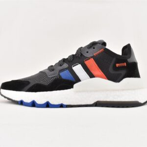 adidas Nite Jogger Core Black Power Blue 1