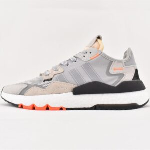 adidas Nite Jogger Grey Orange 1