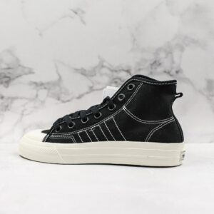 adidas Nizza RF Hi Core Black 1