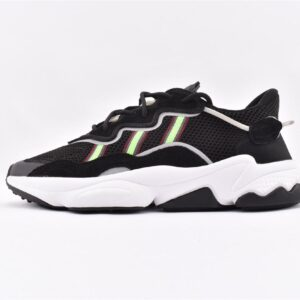 adidas Ozweego Core Black Solar Green 1