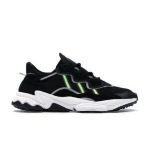 adidas Ozweego Core Black Solar Green