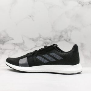 adidas Senseboost Go Core Black Grey 1