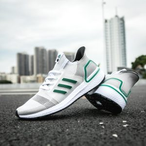 adidas Ultra Boost 2019 White Green 1