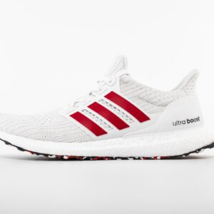 adidas Ultra Boost 4.0 Cloud White Active Red 1