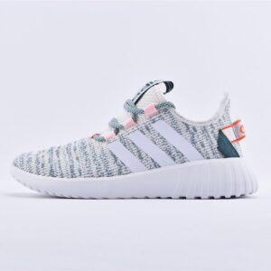 adidas Wmns Kaptir X White Dark Green 1