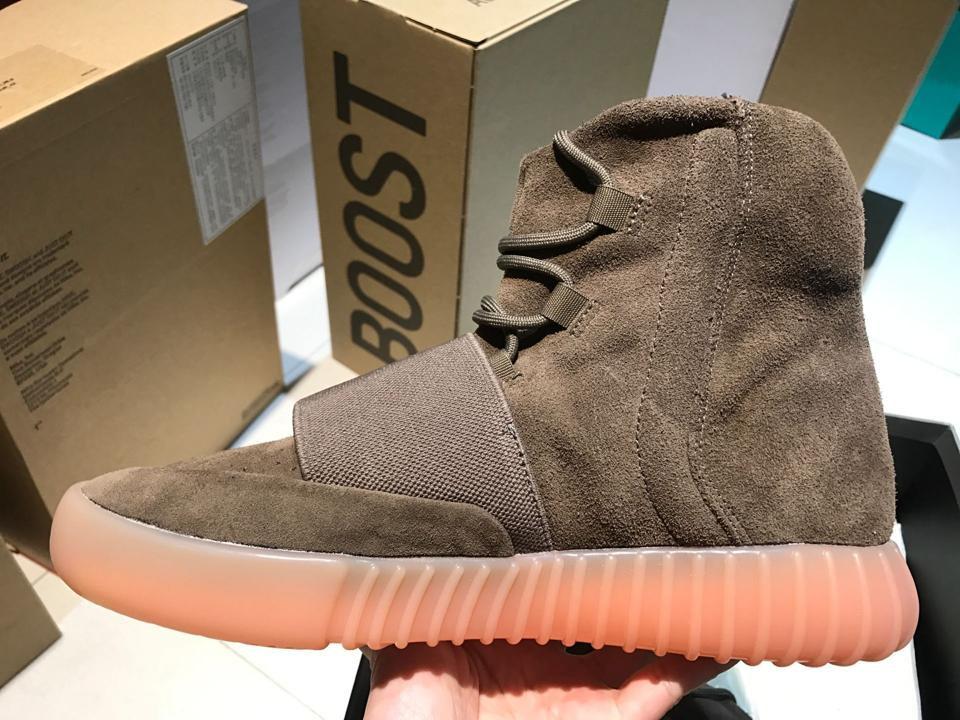 adidas Yeezy Boost 750 Light Brown Gum Chocolate 2
