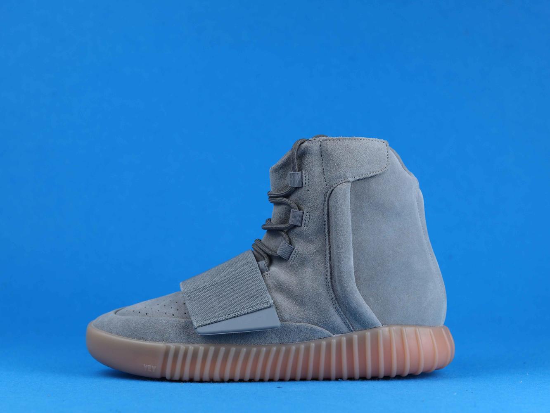 adidas Yeezy Boost 750 Light Grey Glow In the Dark 1