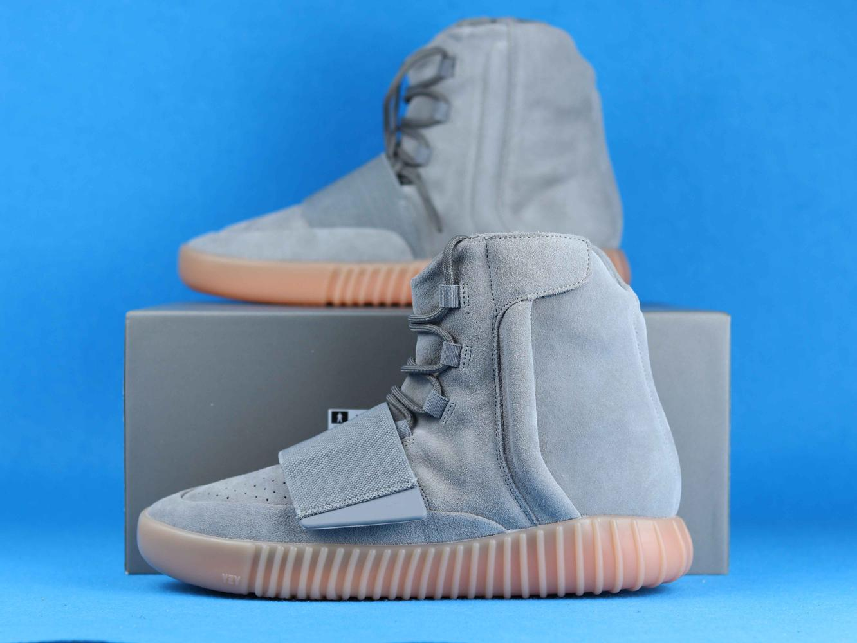 adidas Yeezy Boost 750 Light Grey Glow In the Dark 10