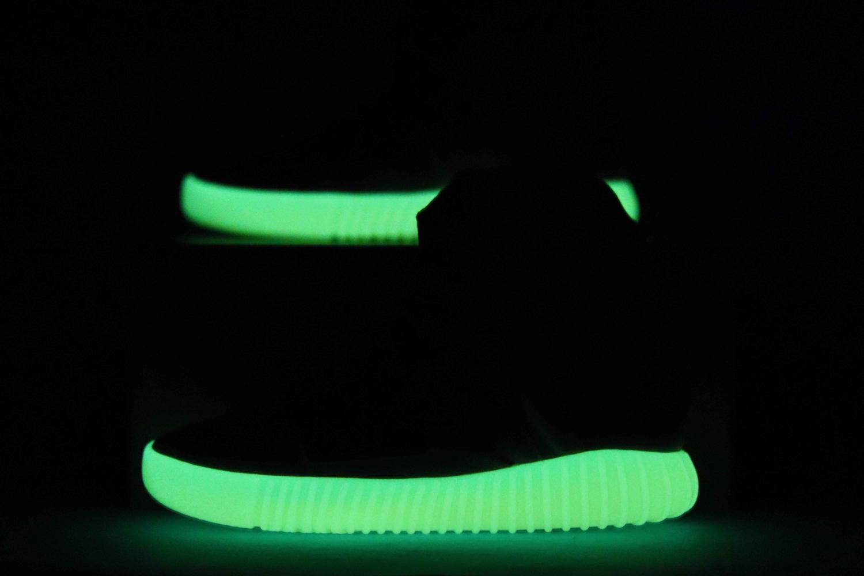 adidas Yeezy Boost 750 Light Grey Glow In the Dark 11