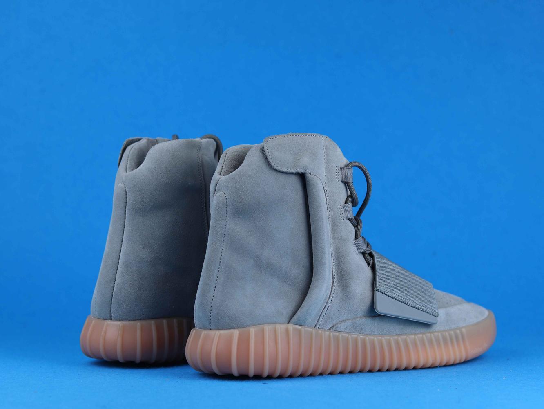 adidas Yeezy Boost 750 Light Grey Glow In the Dark 9